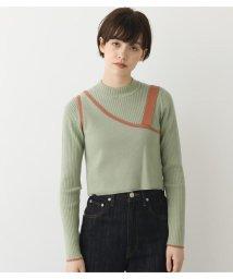 Avan Lily/レイヤードベスト付きリブニット/502968929