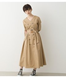 Avan Lily/トレンチライクマキシワンピース/502968931