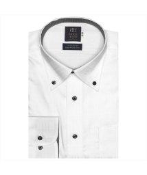 BRICKHOUSE/ワイシャツ 長袖 形態安定 ボタンダウン 綿100% チェック織柄 標準体/502969553