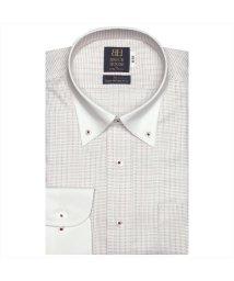 BRICKHOUSE/ワイシャツ 長袖 形態安定 ボタンダウン 綿100% グレー 標準体/502969564