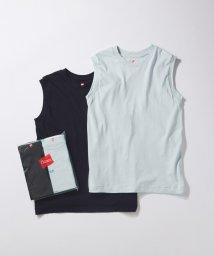 ADAM ET ROPE'/【Hanes for BIOTOP】Sleeveless T-Shirts(カラー)/502970517