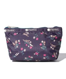 LeSportsac/SMALL SLOAN COSMETIC ユッカパープルブーケ/LS0023515