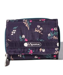 LeSportsac/REESE WALLET ユッカパープルブーケ/LS0023519