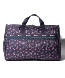 LeSportsac/LARGE WEEKENDER ユッカパープルブーケ/LS0023524