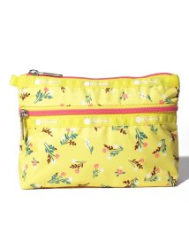 LeSportsac/COSMETIC CLUTCH ユッカイエローブーケ/LS0023531