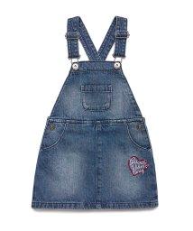 BENETTON (UNITED COLORS OF BENETTON GIRLS)/デニム刺繍ジャンパースカート/502929754