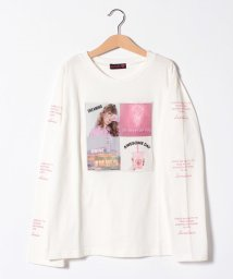 Lovetoxic/カラー転写袖ロゴTシャツ/502940503