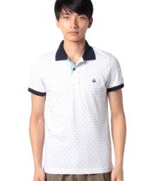 BENETTON (mens)/総柄ポロシャツ/502952916