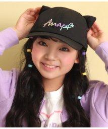 ANAP KIDS/カラフルロゴネコ耳キャップ/502970916