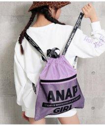 ANAP GiRL/ロゴテープ2WAYナップサック/502970919