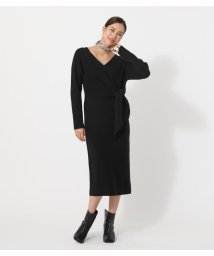 AZUL by moussy/FRONT LINK KNIT ONEPIECE/502971094