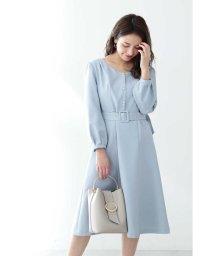 PROPORTION BODY DRESSING/◆フロント釦フレアワンピース/502971133