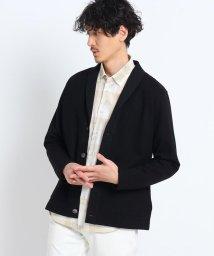 TAKEO KIKUCHI/【Sサイズ~】ハイゲージサーフニット 切り替えショールカーディガン/502971549