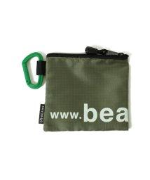 bPr BEAMS/BEAMS / ナイロン ロゴ ポーチ S/502972315