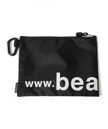 bPr BEAMS/BEAMS / ナイロン ロゴ ポーチ M/502972316