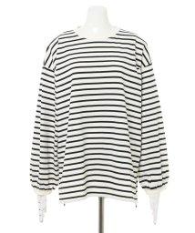 INGNI/ボーダーロングTシャツ                                      /502972423