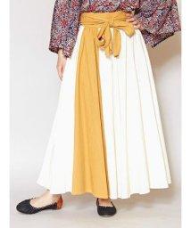 CAYHANE/【チャイハネ】カラーラインスカート IAC-0169/502972523