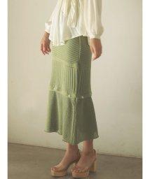 LAGUNAMOON/ミックスニッティングボタンスカート【セットアップ着用可】/502874833