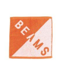 bPr BEAMS/BEAMS / バイアス ビッグロゴ ハンドタオル/502874968