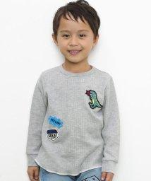 SLAP SLIP/ワッフルワッペン付きTシャツ/502925354