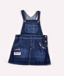 SLAP SLIP/デニムポケット刺繍ジャンパースカート/502938158