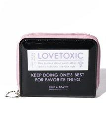 Lovetoxic/エナメル2つ折り財布/502940521