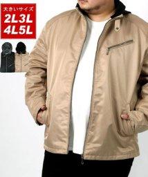 MARUKAWA/【LOUIS CHAVLON】大きいサイズ ボンディング ライダース 春 アウター/502946415