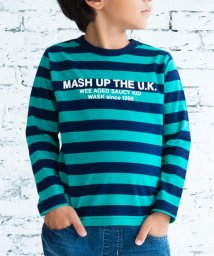 WASK/天竺ボーダーTシャツ(90cm~100cm)/502948940