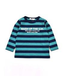 WASK/天竺ボーダーTシャツ(110cm~130cm)/502948941