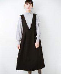 haco!/ニットにもTシャツにも似合う ずっと着られてパッと華やぐジャンパースカート/502955925
