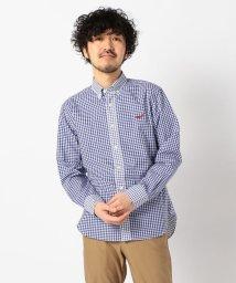 NOLLEY'S goodman/クジラ刺繍ボタンダウンシャツ 20SS/502966343