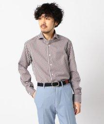 NOLLEY'S goodman/イージーアイロンワイドカラーシャツ/502966346