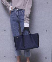 UNGRID bag/スムースラージトートバッグ/502969165