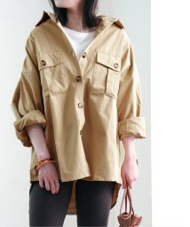 Fizz/ツイルポケット付きオーバーシャツ mitis SS/502969770