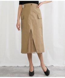 Settimissimo/センターチュールデザインナロースカート/502973455