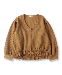 branshes/裾フリルワッフルジャケット(90~150cm)/502975922