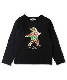 RADCHAP/ベアグラフィック長袖Tシャツ(90~130cm)/502975944