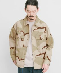 URBAN RESEARCH/URBAN RESEARCH iD DESERT CAMO CPO JACKET/502977099