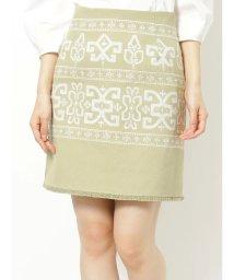 MERCURYDUO/刺繍ミニスカート/502793037