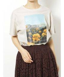 MERCURYDUO/フラワーフォトTシャツ/502793052
