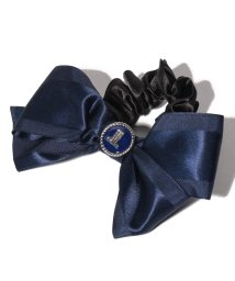 LANVIN en Bleu(JEWELRY)/タンダンス ネイビーサテンリボンシュシュ/502834943