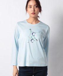 CARA O CRUZ/【接触冷感】ガールモチーフTシャツ/502912901