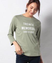 CARA O CRUZ/メッセージTシャツ/502915097