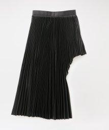 LOVELESS WOMEN/◆◆【JOHN LAWRENCE SULLIVAN】WOMEN Satin Pleated Skirt 2C026-0620-16/502949768