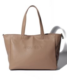 MOUSSY(BAG)/【MOUSSY】LOGO PUNCHING BASIC NEW TOTE L M01-1-00085/502955756