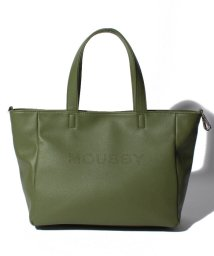 MOUSSY(BAG)/【MOUSSY】LOGO PUNCHING BASIC NEW TOTE M M01-1-00086/502955757