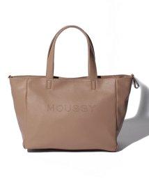 MOUSSY(BAG)/【MOUSSY】LOGO PUNCHING BASIC NEW TOTE M M01-1-00086/502955757
