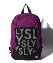 SLY(BAG)/RAMDAM LOGO RYUCK S09-1-00044/502955760