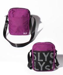 SLY(BAG)/RAMDAM LOGO 縦型 SHOULDER S09-1-00047/502955763