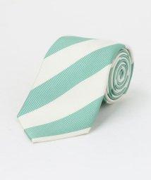 green label relaxing/シルク 2 8.0 ストライプ 3 ネクタイ/502963583